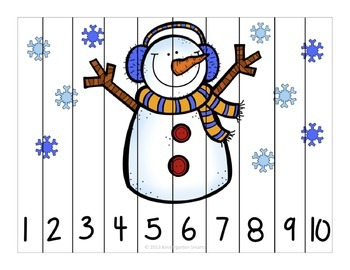 Winter Number Puzzles