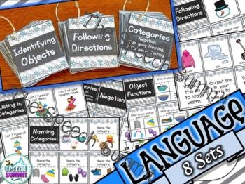 Winter Fun Decks: Language Concepts