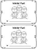 Winter Fun! - Emergent Reader