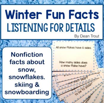 Winter Fun Facts: Listening Comprehension