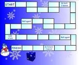 Winter Fun Game Board