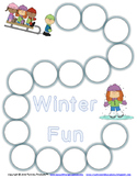 Winter Fun Game Boards