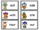 Winter Homonyms Matching & Worksheets