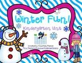 Winter Fun! Kindergarten Unit - Common Core Aligned