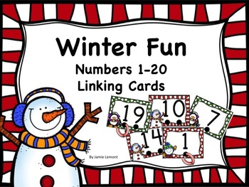 Winter Fun Linking Numbers 1-20