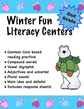 Winter Fun Literacy Centers