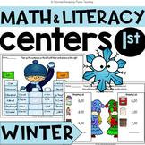 Winter Fun Literacy & Math MEGA packet + answer key