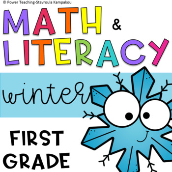 Winter Fun Literacy & Math MEGA packet + answer key (Color