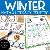 Winter Math and Literacy Centers {Kindergarten}