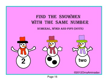 Winter Fun Literacy and Numeracy Activities