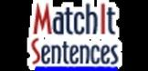 Winter Fun - MatchIt Sentences Worksheet