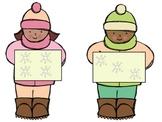 Winter Fun Math Center