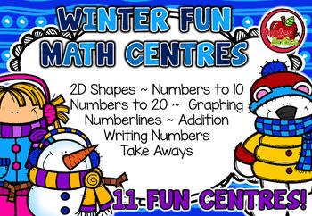Winter Fun Math Centres!