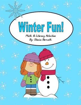 Winter Fun! Math & Literacy Activities