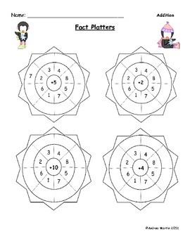 Winter Fun: Math Worksheets