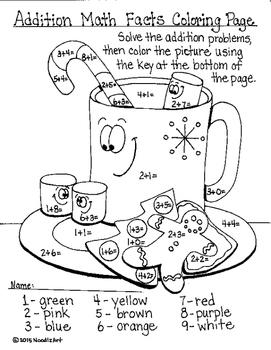 Winter Fun Math Worksheets
