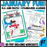 Winter Fun! (Math and ELA)