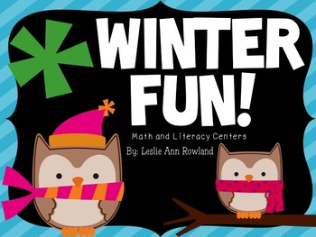 Winter Fun! Math and Literacy Centers