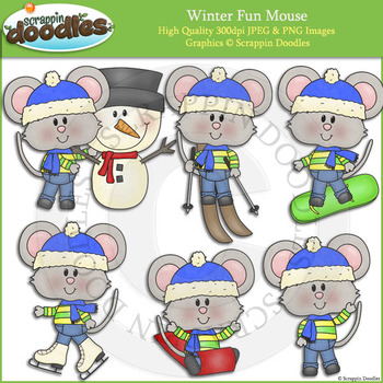 Winter Fun Mouse