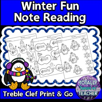 Winter Fun Note Reading