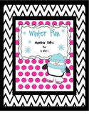 Winter Fun Number Talks for K - 1