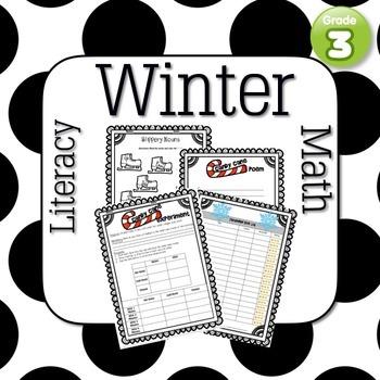 Winter Printables: 3rd Grade