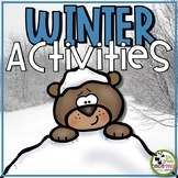 Winter Math and Literacy Learning Centers and Activities (1st and 2nd Grades)