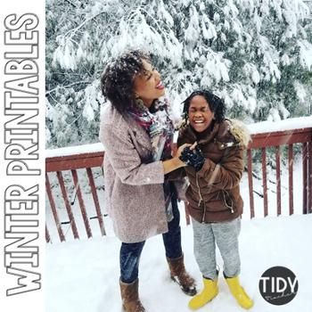 Winter Printables: Pre-K & Kindergarten