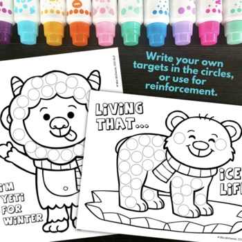 Winter Fun Pack {for speech/language therapy or classroom fun!}