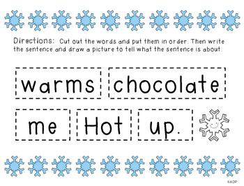 Winter Fun Pack - literacy, math and more!