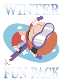 Winter Fun Packet--15 Pages of Puzzles, Games, and More! With Key!