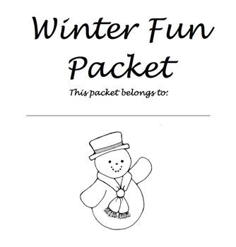 Winter Fun Packet