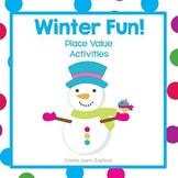 Place Value Winter Fun Activities