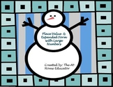 Winter Fun: Place Value & Expanded Form with Large Numbers