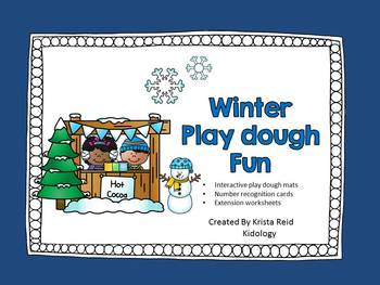 Winter Playgough Activities