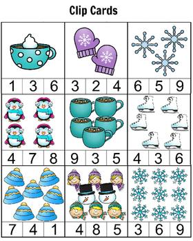 Winter Fun Preschool Pack