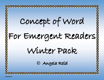 Winter Fun Sentence Scramble with Cut and Paste Worksheet
