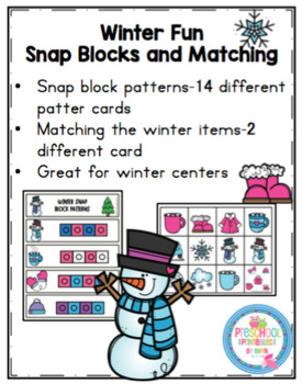 Winter Fun Snap Block Patterns for Centers