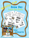 Winter Fun Snow Day Ten Frames Count the Room (Quantities to 20)