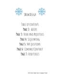 Winter Fun! Snow Dough Recipe and Activities