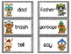 Winter Synonyms Matching & Worksheets
