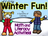 Winter Fun Unit! Math and Literacy Activities!