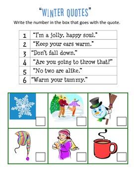 Winter Fun (Variety of activities and printables)