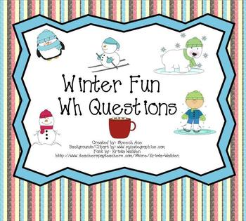 "Winter Fun: ""WH"" questions"