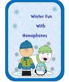 Winter Fun With Homophones