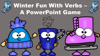 Winter Fun With Verbs - A PowerPoint Game