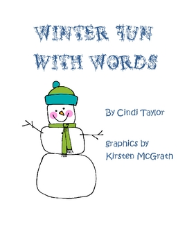 Winter Fun With Words