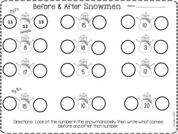 Winter Fun Worksheets  {FREEBIE}