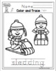"Winter Fun Printable ""No Prep"""