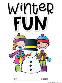 Winter Fun {class book freebie!}
